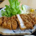 山下天丼 - 料理写真:とんかつ定食