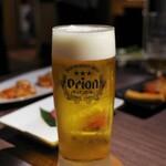 焼肉レストラン ロインズ - 生ビール