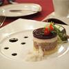 マゼランズ - 料理写真:合鴨とポークとチキンのガトー仕立て、コンソメスープ