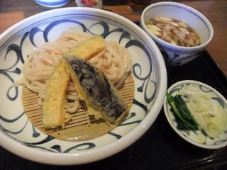 喜多一 - 野菜天ざる肉汁うどん