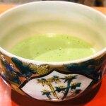 ポン ムヴァン - 抹茶セット500円、抹茶