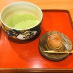 ポン ムヴァン - 抹茶セット500円