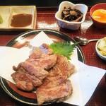 ○や - 料理写真:生ラムテキ定食1500円税込