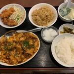 中国料理 興隆園 - 四川風麻婆豆腐(ランチ)