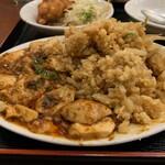 中国料理 興隆園 - 麻婆豆腐丼②