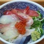 海鮮丼の駅前 - 海鮮丼 並盛