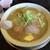 煮干中華 あさり - 料理写真:味噌煮干し690円