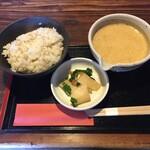 122525442 - 麦飯とろろ(¥450)