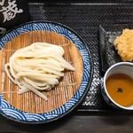 本格手打 麺の蔵 - ざる&とり天