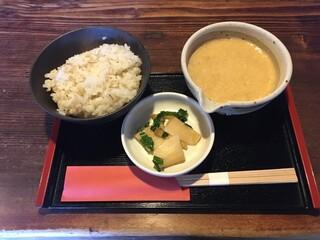 蕎舎 - 麦飯とろろ(¥450)