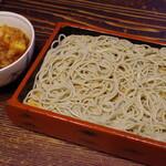 室町砂場 - 料理写真:天もり