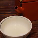 室町砂場 - 蕎麦湯