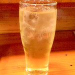 酒どこ べらぼう - 緑茶ハイ500円
