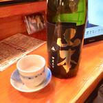 酒どこ べらぼう - 山本 純米吟醸700円