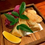 taachi - 里芋の唐揚げ