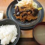 味樹 - 料理写真:ランチとんかつ(11g)で¥1120