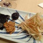 12253058 - ミョウガ:梅肉と青海苔