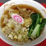 五月 - 料理写真:ワンタン麺