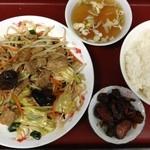 五月 - 野菜炒め定食