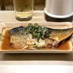 駅前酒場 - 〈2019年12月再訪・2回目〉鯖味噌煮・500円