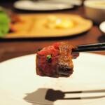 ビストロ TERIYAKI - 黒毛和牛ステーキ(ハラミ)