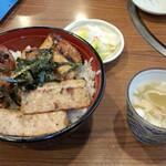 122533044 - サービス丼(1100円)