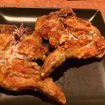 銀座酒場 マルダイ 大名 - 直方直送 鶏の唐揚げ ※今回は特別バージョンと言われていました