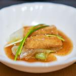 中国茶寮 一華 - 豆腐の蝦子煮込み