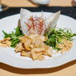 中国茶寮 一華 - みる貝の中華風刺身
