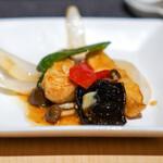 中国茶寮 一華 - マコガレイの甘酢炒め