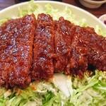 キッチンフライパン - 会津ソースカツ丼❗