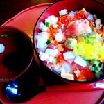 お米屋さんの寿司屋 桜 - 華やぎ丼 吸い物がついて700円