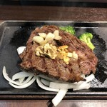 いきなり!ステーキ - トップリブステーキ(アップ1)