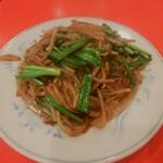 上海菜館 - レバニラ炒め