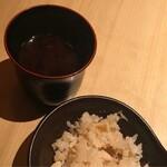 美食 個室・炭火焼・ワイン 縁 - 留椀と御食事