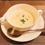 ティーズ・セルカジェ - 地場産カリフラワーのスープ