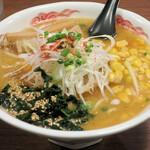 室壱羅麺 - 味噌羅麺850円