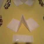 ふくろふ森 - テーブルセッティング