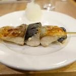 122550054 - 銀鯖の串焼き(430円)