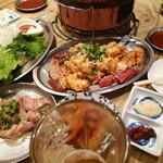 炭火ホルモン焼肉ばりき屋 - よーし食べるぞぉ