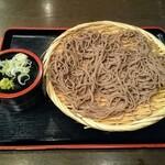 そじ坊 - 料理写真:ほろ酔いセットに追加の盛り蕎麦