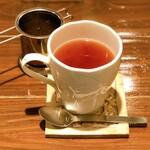 ブルー ファー ツリー - 紅茶(アールグレイ)。