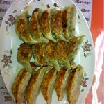 笑龍 - 左から野菜、福福、ニンニク一倍です。