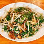 亀戸餃子  - レバニラ