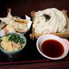 山賊村 - 料理写真:天ざるうどん