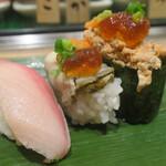 寿司 魚がし日本一 - 冬の三寒王