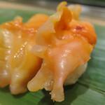 寿司 魚がし日本一 - 赤貝