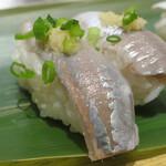 寿司 魚がし日本一 - いわし