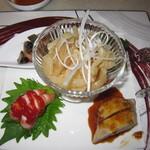 中国料理 桃李 - 2019年の「飲み放題付きコース」前菜盛り合わせ