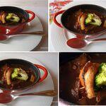 レストラン楓 - 牛肉の煮込み赤ワインソース。レストラン楓(かえで,豊田市足助町)食彩品館.jp撮影